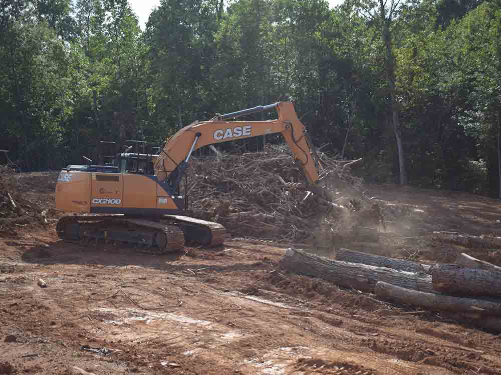 Land Clearing Grubbing Site Clearing