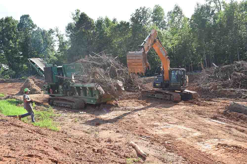Land Clearing Site Prep Clearing Grading and Grubbing Operations(02)